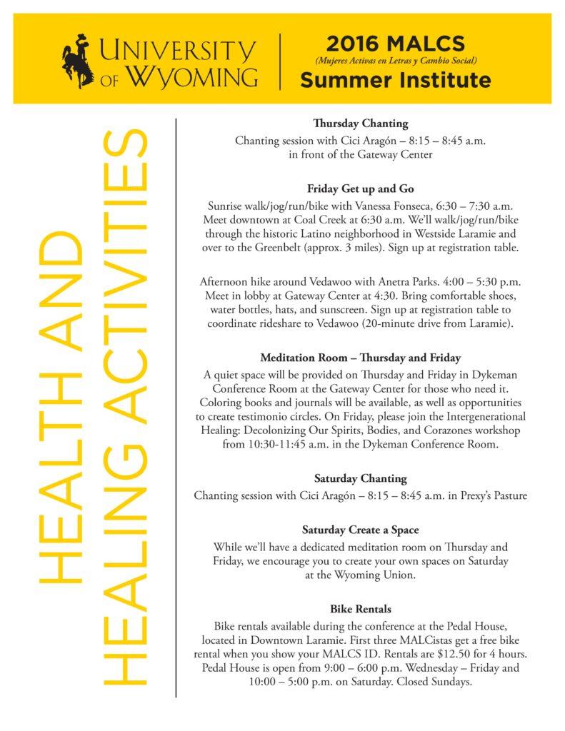 HealthHealingMALCS_2016